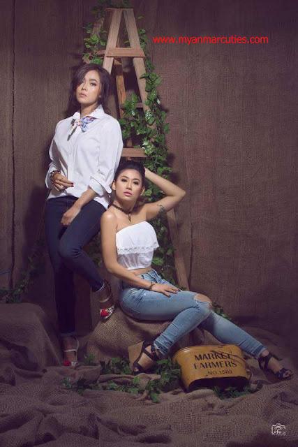 Moe Hay Ko & Thinzar Wint Kyaw For People Magazine 2016 July