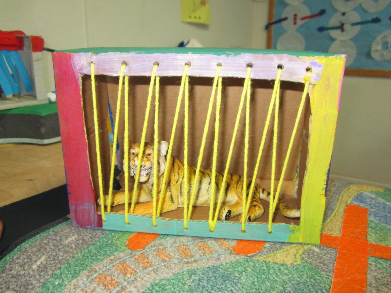 The Pa Paw Patch Homeplay Idea Zoo Animal Cage
