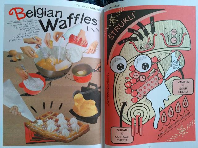 Belgian waffles i strukli