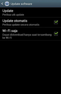 Cara upgrade versi android