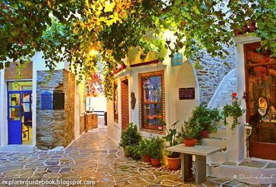 Tempat wisata di yunani santorini mykonos pulau paling indah di Yunani Kythnos Greece Yunani