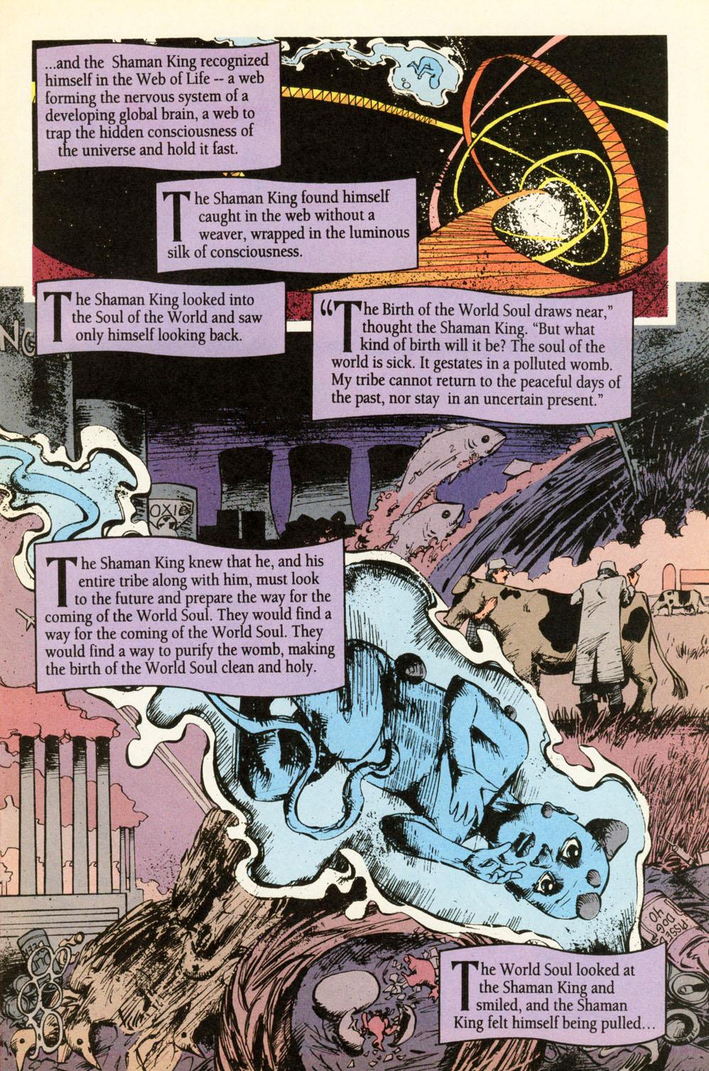 Read online Animal Man (1988) comic -  Issue #87 - 9