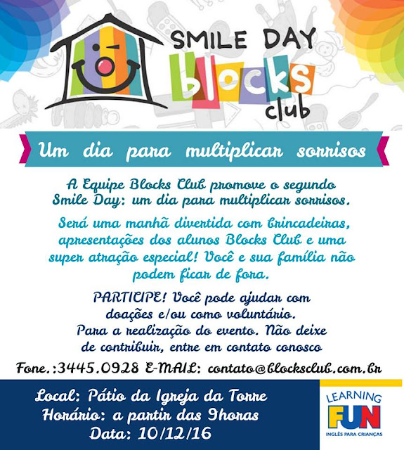 Blocks Club Smile Day em Recife