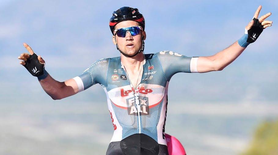 Giro d'Italia: il belga Tim Wellens vince la 4a tappa, la Catania Caltagirone di 202 Km