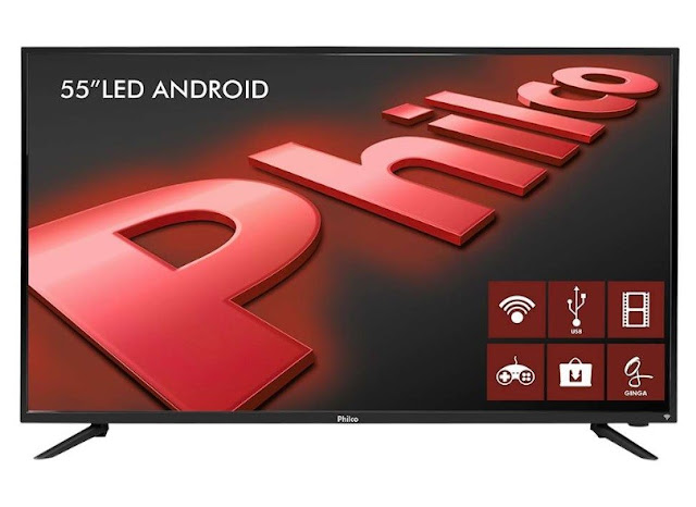 Smart TV LED 55 Philco PH55a17DSGWA é boa?