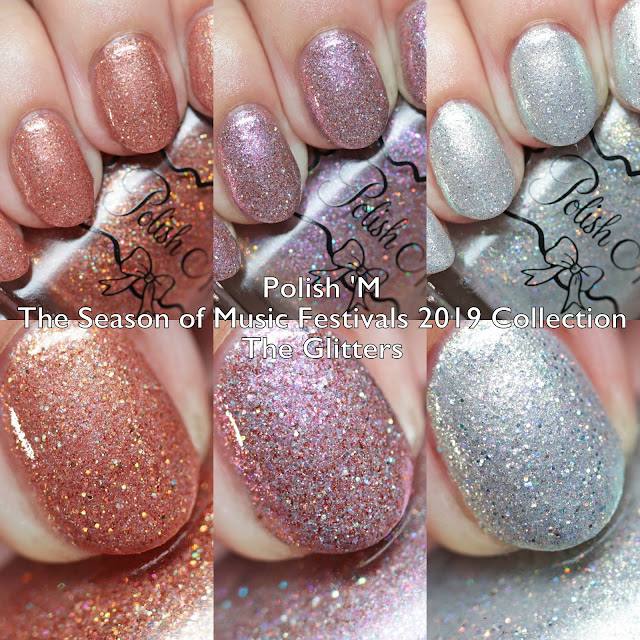 Polish 'M The Season of Music Festivals 2019 Collection The Glitters