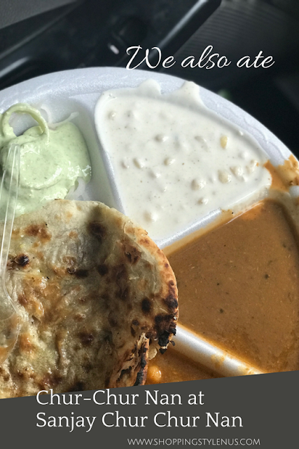What I did this weekend? Tried Aloo (potato) and gobhi (cauliflower) Chur-Chur Nan at Sanjay Chur-Chur Nan