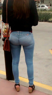 chavas nalgonas jeans apretados