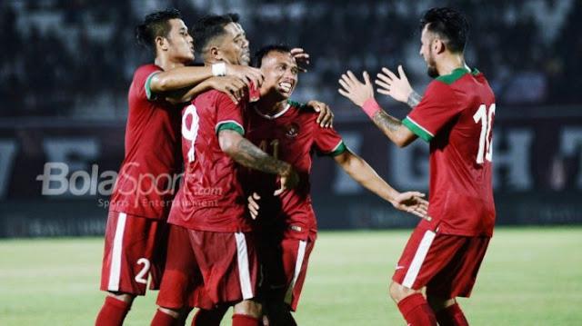 Timnas U-23 Suguhkan Gol Cantik di Asian Games 2018, Indonesia Unggul 4-0 Atas Taiwan