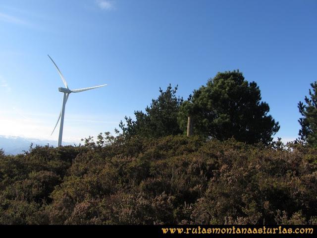 Ruta Sierra Bufarán, picos Degollada o Grande y Cotera: llegando a la Degollada o Pico Grande