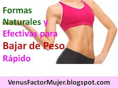 Formas naturales y efectivas para bajar de peso r pido Hierbas para bajar de peso y quemar grasa