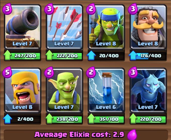clash royale deck