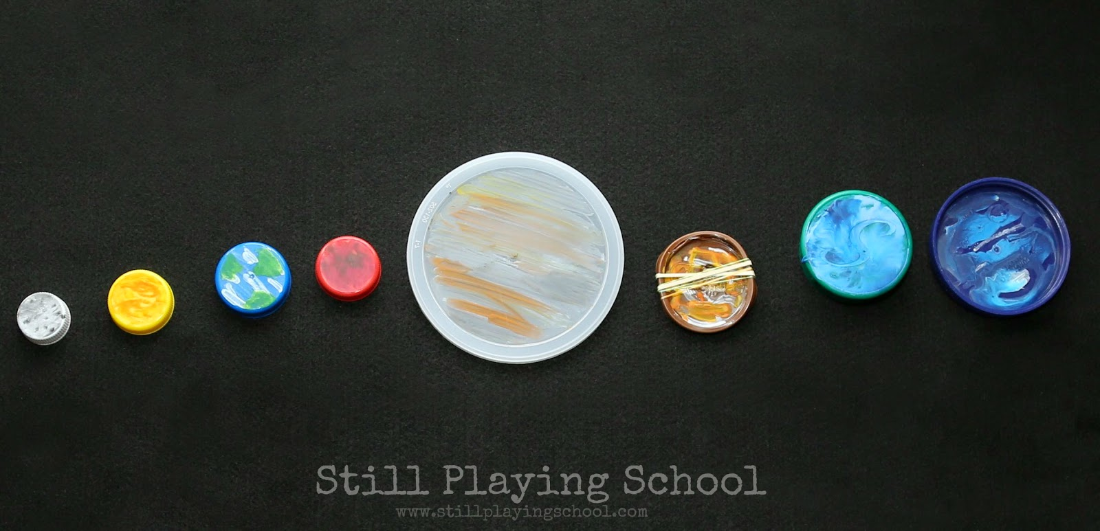 Materials Used to Make a Model of the Solar System - Pics ...