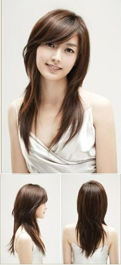 cewek terbaru yang bisa anda jadikan inspirasi model gaya rambut ada dengan tipe atau bentuk wajah bulat oval lonjong segitiga