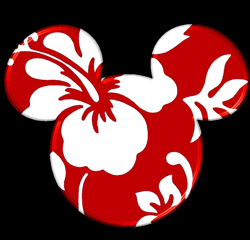 Mickey Heads Hawaiian Style Oh My Fiesta In English
