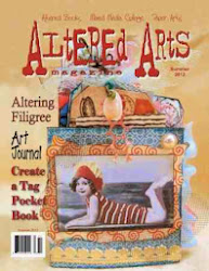 I designed for Altered Arts Magazine
