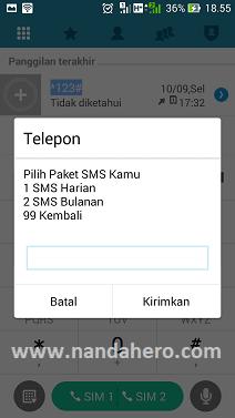 Cara Daftar Paket Sms Indosat Terbaru 2019 Nanda Hero