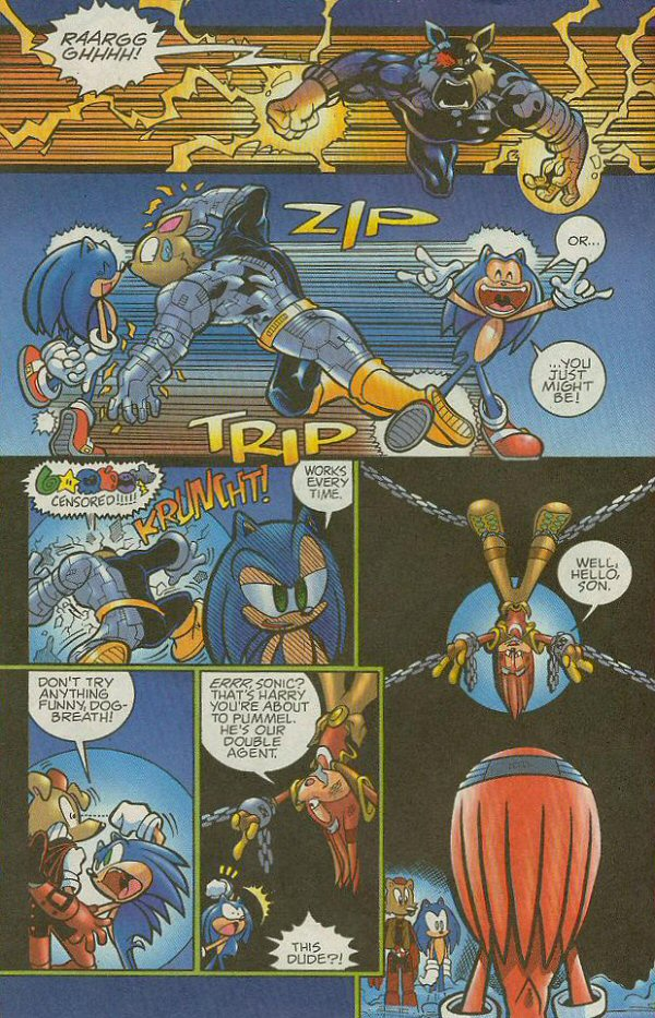 Read online Sonic The Hedgehog comic -  Issue #140 - 15