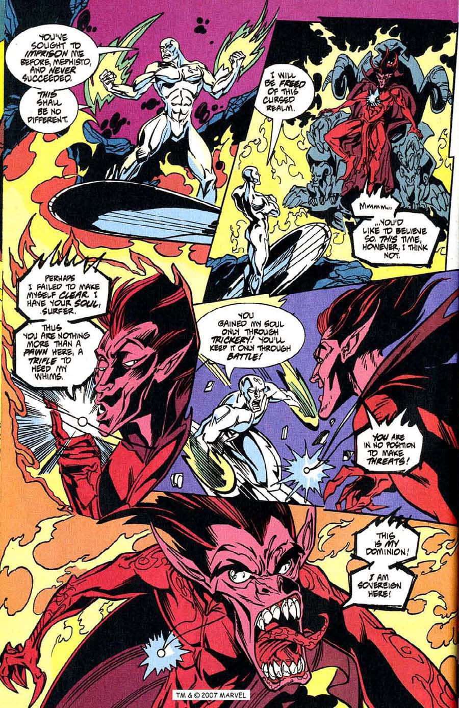 Read online Silver Surfer (1987) comic -  Issue #100 - 16