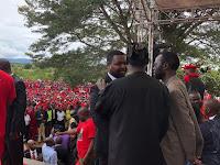RAILA ODINGA tells Zimbabweans that he is the President of Kenya – Don't call me Mzee, I floored UHURU/ RUTO in Aug