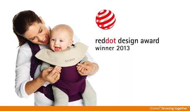 Stokke MyCarrier wins reddot design award