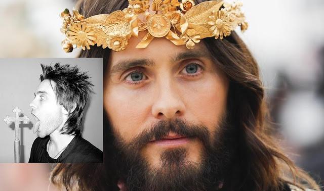 """Jared Leto quien hizo burla a """"Cristo"""" en la gala MET 2018 acusado de abuso sexual a menores"""