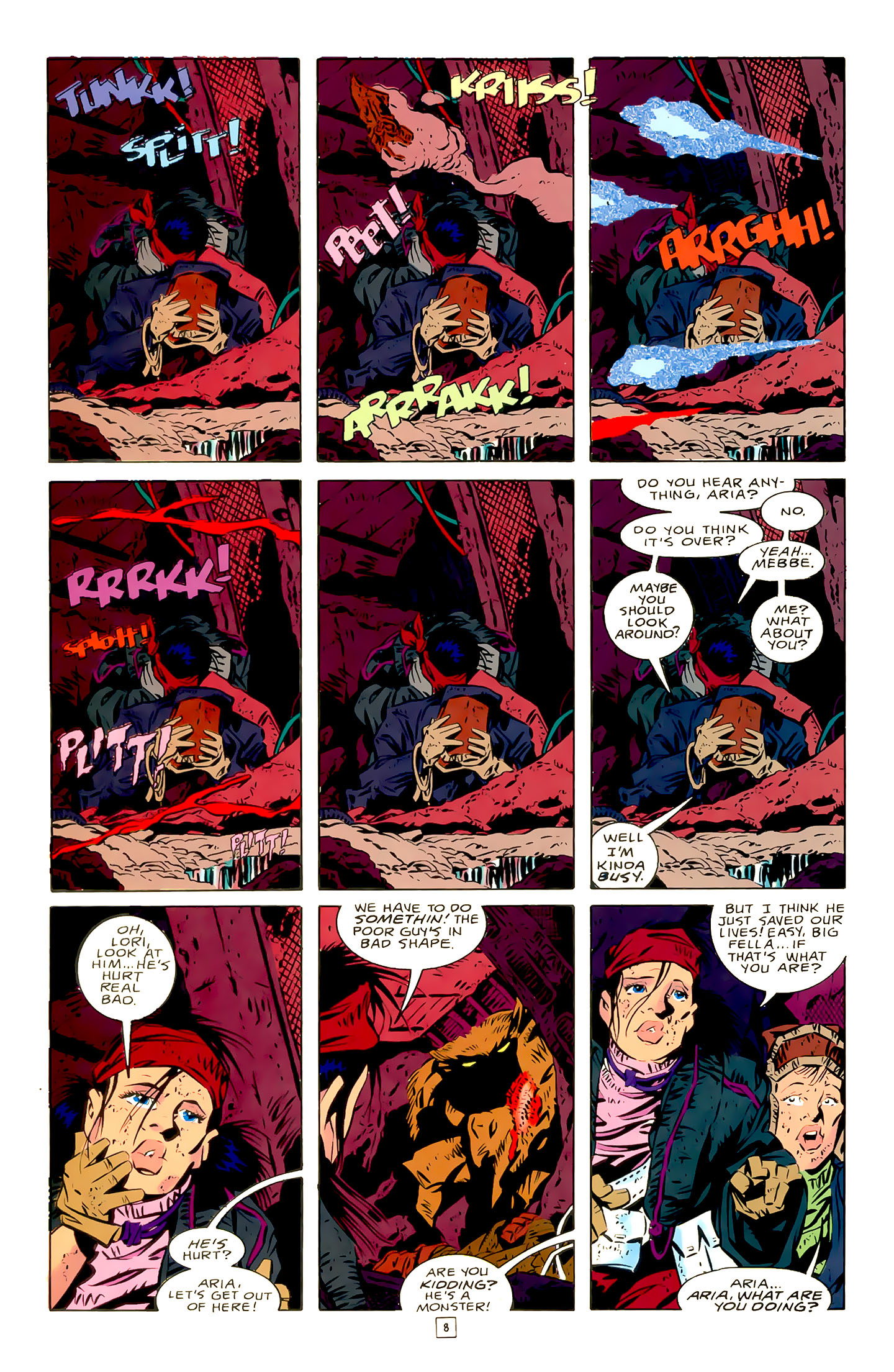 Legion of Super-Heroes (1989) 21 Page 8