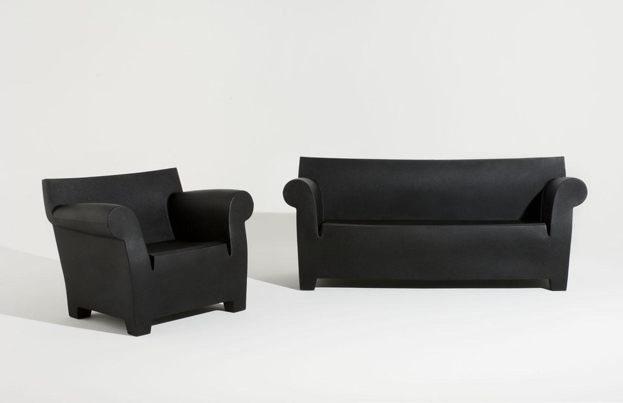 Kartell Bubble Club Sofa Gebraucht Abbott Vintage Cigar Tufted Leather Divano Esterni Design P Starck Ebay