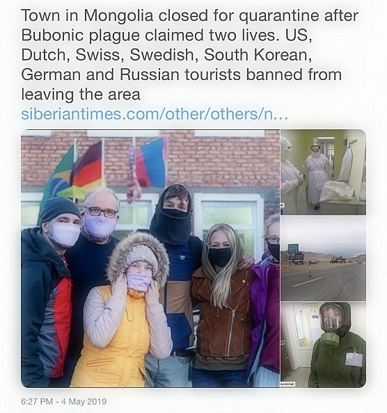 Bubonic outbreak: US and European tourists are still stuck in infected areas