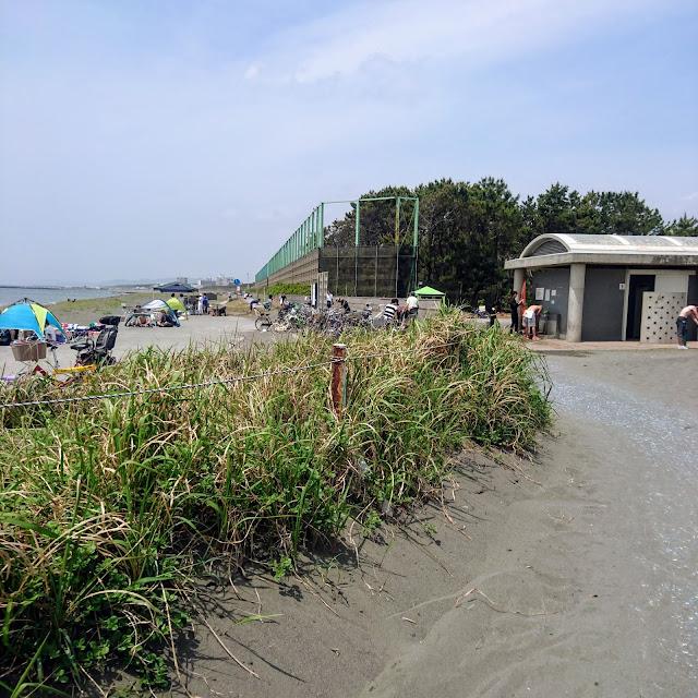 湘南海岸・砂浜のみち 茅ヶ崎ヘッドランド