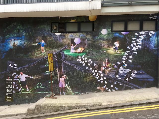 Sheung Wan street art, Hong Kong