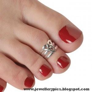 Beautiful Toe Ring Designs Mettelu Latest Jewellery