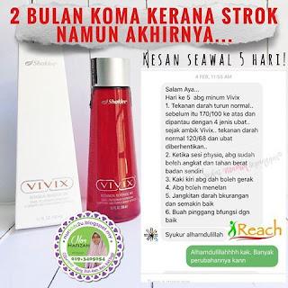 vivix bantu atasi penyakit strok