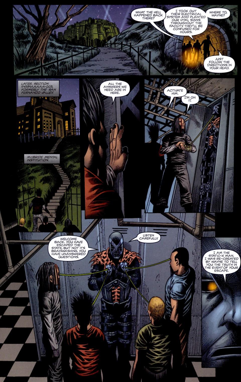 Read online Static-X: Machine comic -  Issue # Full - 19