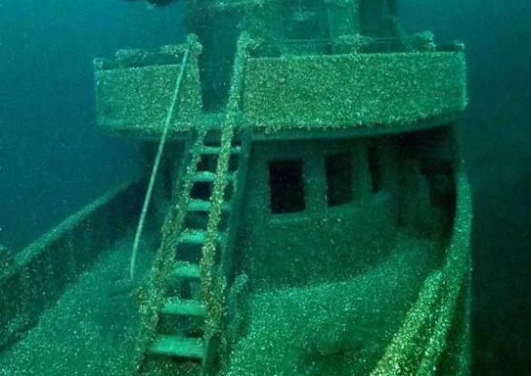 غرقت قبل 90 عاماً وعثر على حطامها مؤخراً, حل لغز السفينة ملعونة فيديو