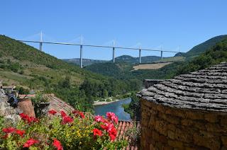 El Viaducte de Millau des de Peyre