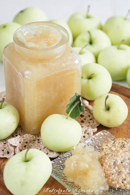 do naleśników, dżem jabłkowy, do chleba, na słodko, papierówki, przetwory, daylicooking, Małgorzata Kijowska