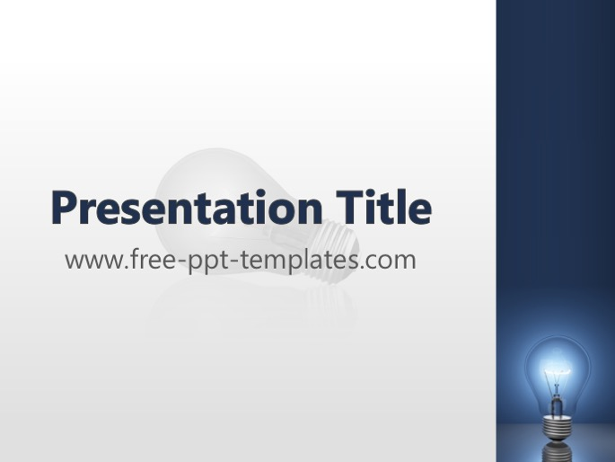 Electricity Ppt Template Mr Templates