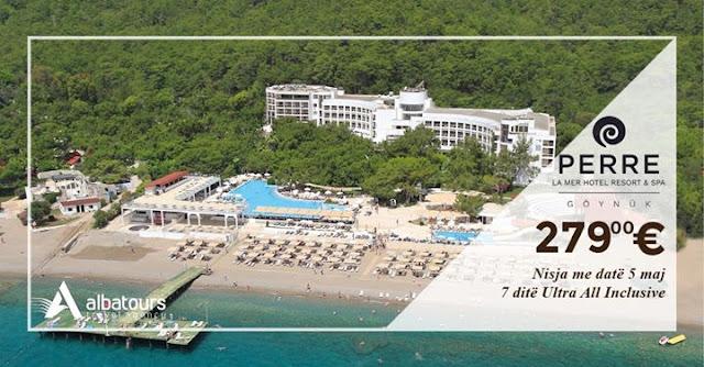 Ofertë Speciale për vetëm 279€ për person Perre La Mer Resort & Spa 5*