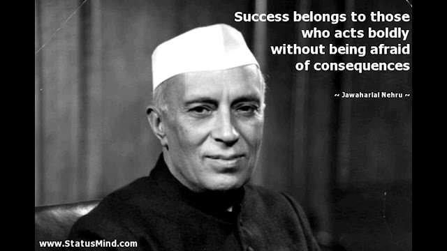 quotes by Jawaharlal Nehru