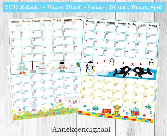 april kalender, kalender voor kinderen, aftelkalender, kalender voor meisjes, kalender met hondjes, kalender roze, schattige kalender