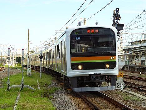 八高線 高麗川行き 209系3100番台