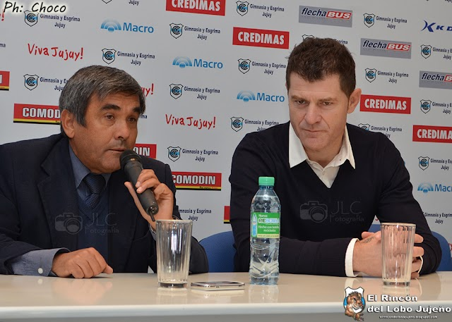 Gimnasia presentó a Gabriel Schürrer como nuevo entrenador