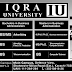 IU Iqra University Admission 2018 BS MS M.Phil PHD