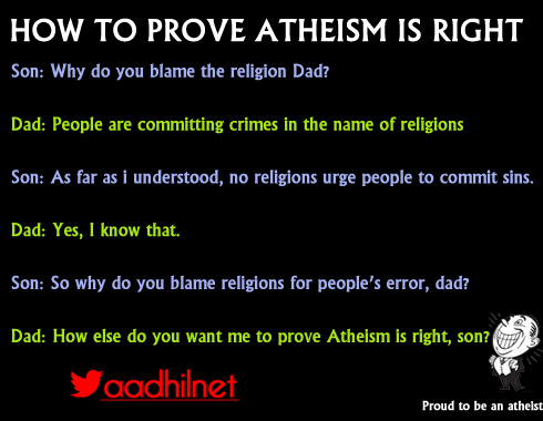 aadhilnet: Atheists Jokes