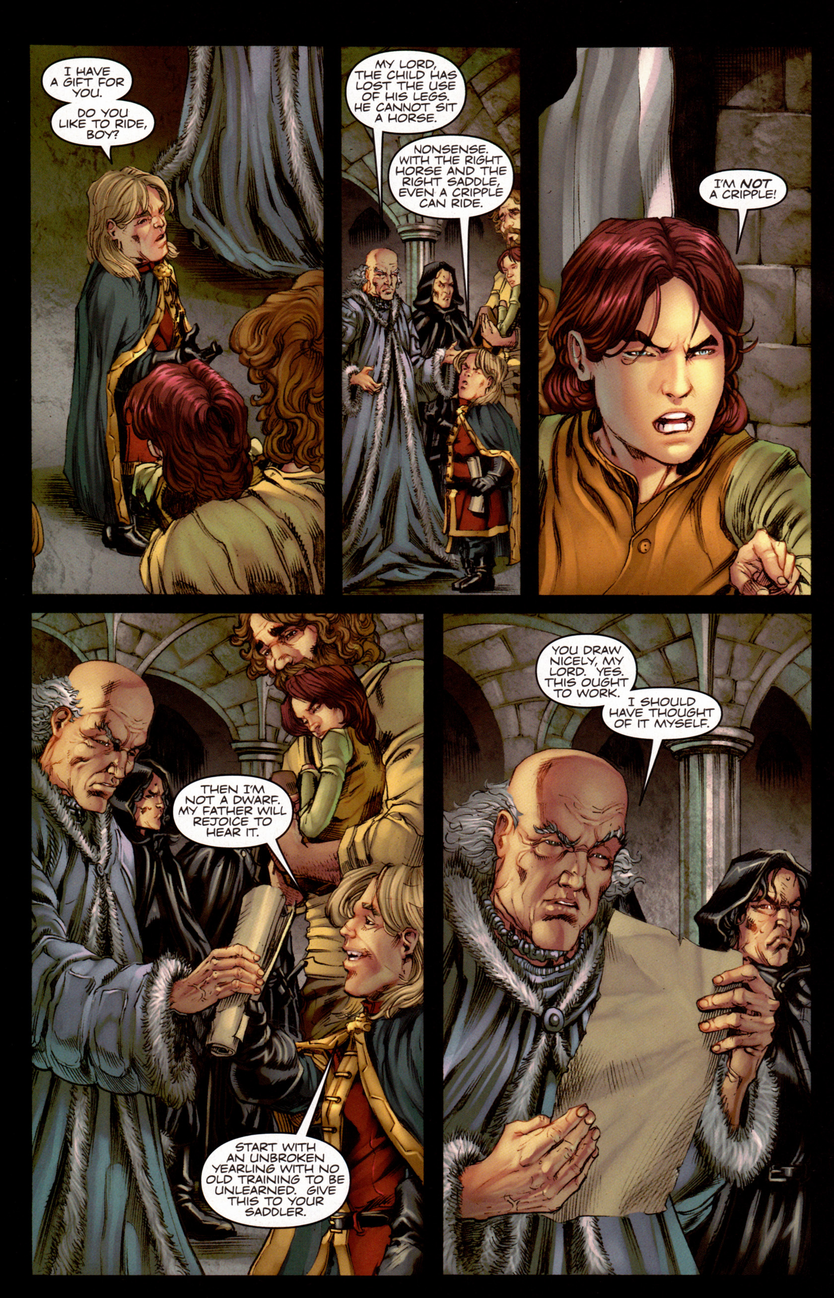 Read online A Game Of Thrones comic -  Issue #7 - 27