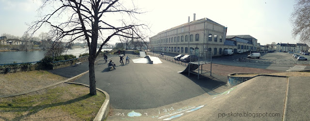 Skatepark Chatellerault panoramique