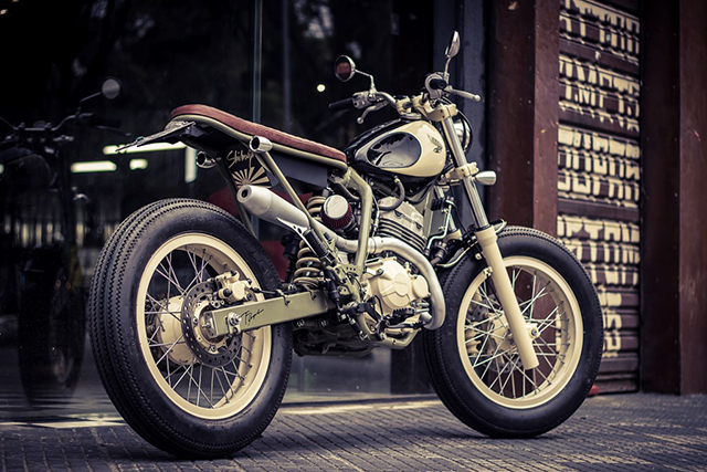 Honda XRE300 Custom by Shibuya Garage Custom Motorcycles & Classic