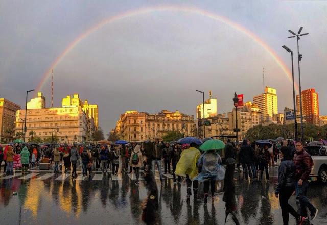 La marcha del arcoiris