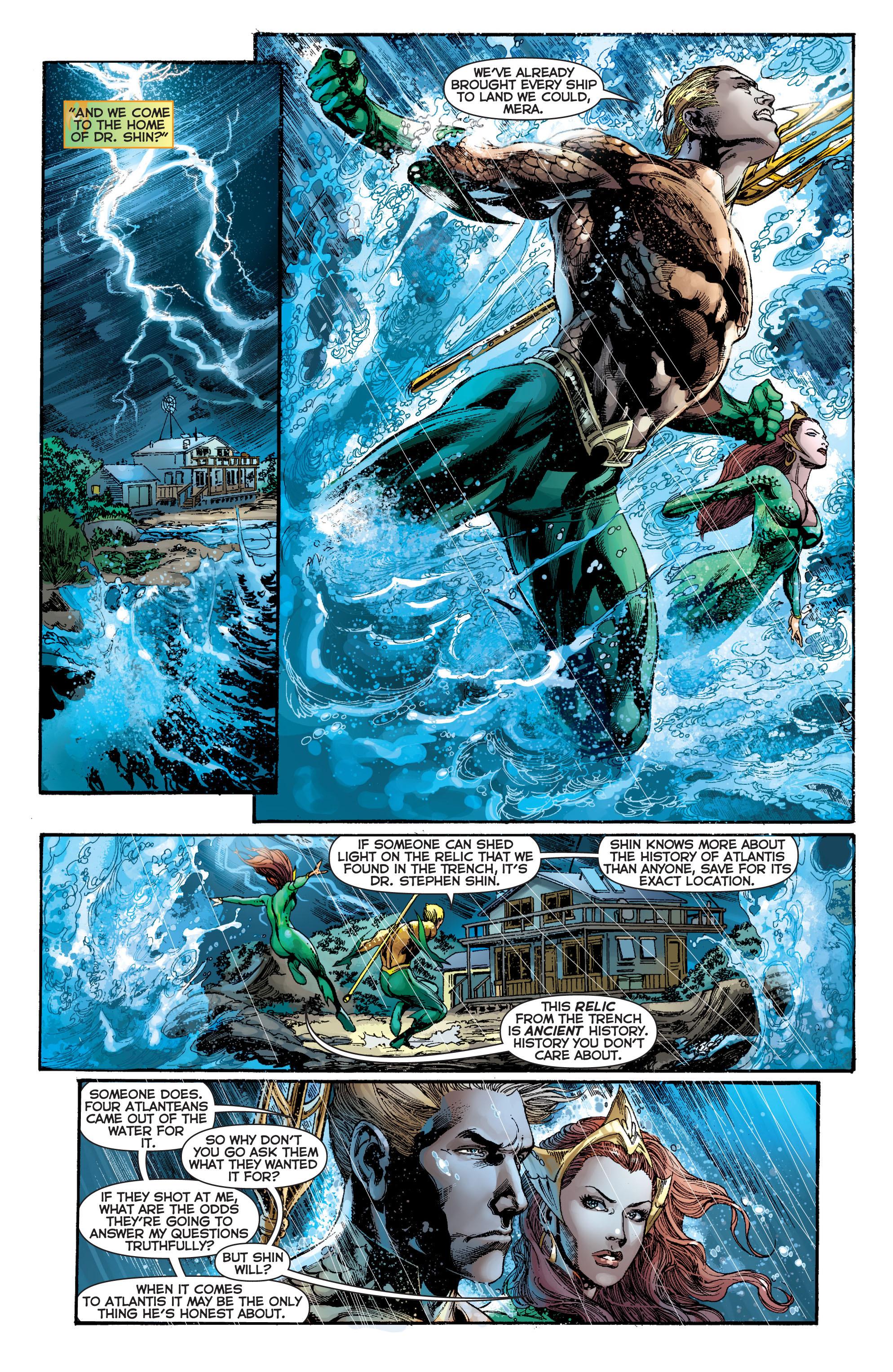 Read online Aquaman (2011) comic -  Issue #7 - 14